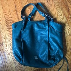 Kooba Bags - Kooba Logan Green Leather Tote / Shoulder Bag